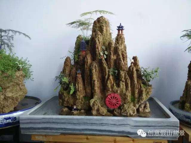 上水石盆景介绍图片