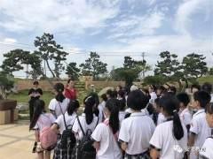 梧山校区小记者走进鸿江盆景文化园