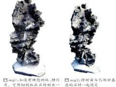 制作附石盆景时 树与石比例怎么做最好?