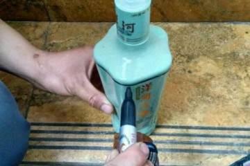 图解 酒瓶盆景怎么做?5幅图