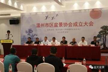 温州市区盆景协会成立大会