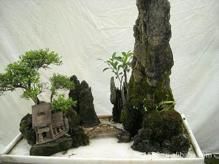 制作山水盆景的两种新石材