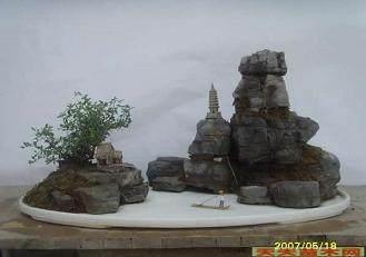 山石盆景怎么制作的4个方法