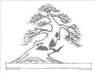 以我观点可往设计成大树型盆景造型方面考虑