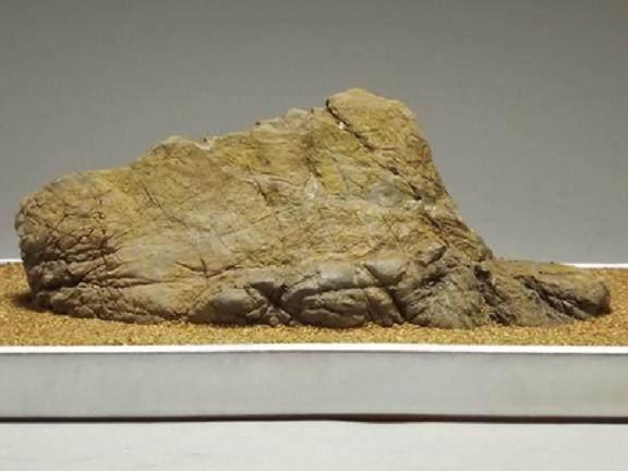 日本盆石 其形式和内涵类似于中国的山水盆景
