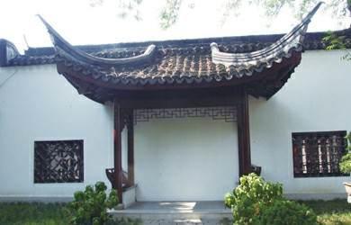 申城古典园林式山水空间上海醉白池盆景园