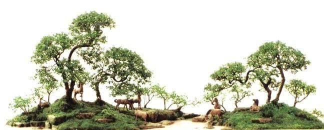 树石盆景研究协会联展