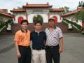 许多大陆的公司甚至直接跑到台湾向他购买罗汉松盆景