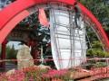 福建花卉盆景博览会进行最后布展 中秋可到西湖赏奇花异草(组图)