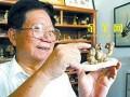 广州一老医生利用千余颗人体结石制成盆景(图)