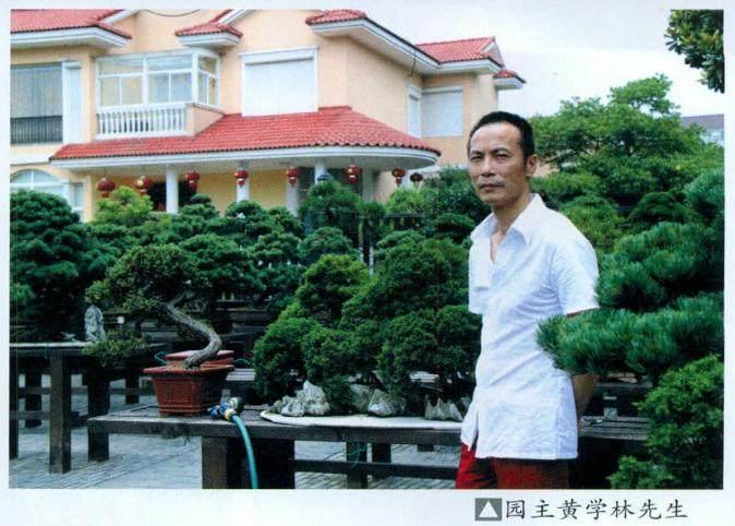 浙江湖州黄家盆景园
