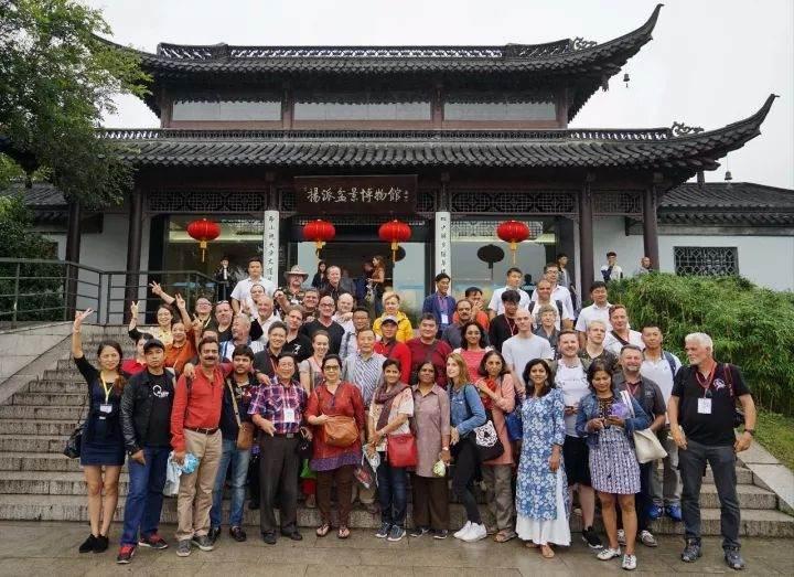 给扬州瘦西湖风景区的感谢信-第四届中国风盆景展