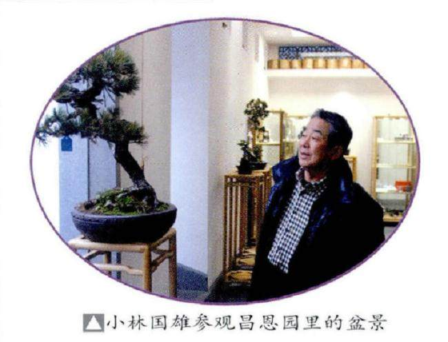 日本盆景大师小林国雄先生访问武汉盆景界