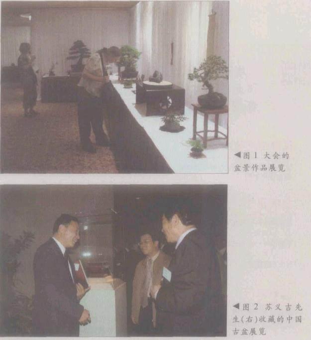 世界盆景大会邀请赵庆赴美参会并作中国盆景示范表演