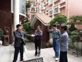 曾安昌会长一行走访盆景收藏家蔡志伟先生家园