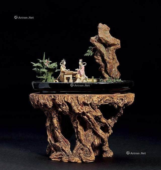 浆塑盆景的制作与学习