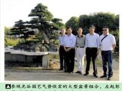 陕西组织中日盆景文化艺术交流之旅