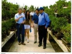 国际树木种植学会代表团访问了中国唐苑盆景园