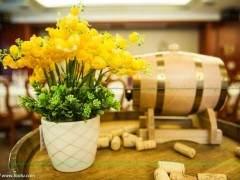 津南区凯尔斯花卉种植场试种成功盆景北美海棠销售前景看好