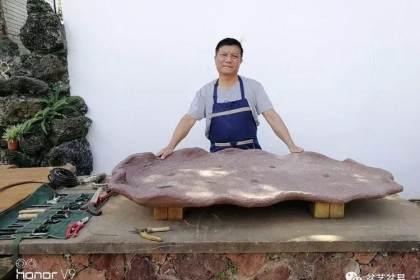 图解 刘传刚制作大型垂枝式树石盆景的方法