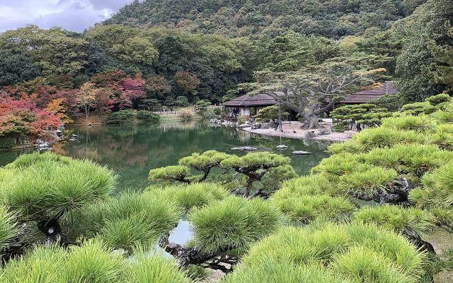 探索日本四国岛的高松盆景