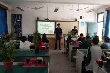 港沿镇第一期黄杨盆景造型兴趣班结业