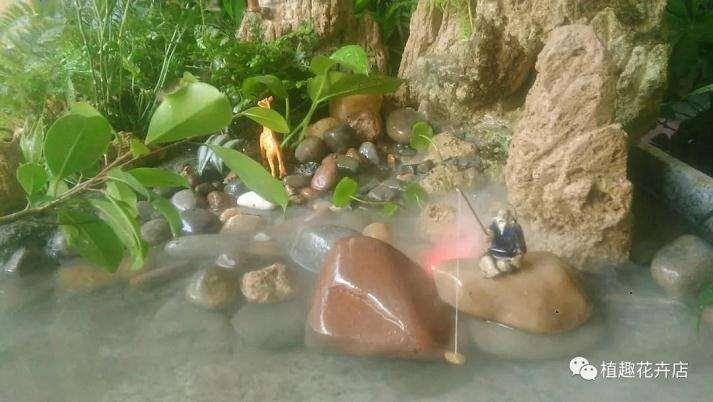 怎么用大理石自制山水盆景