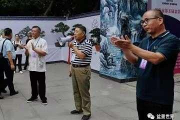 第五届岳阳盆景展在金鹗公园成功举行