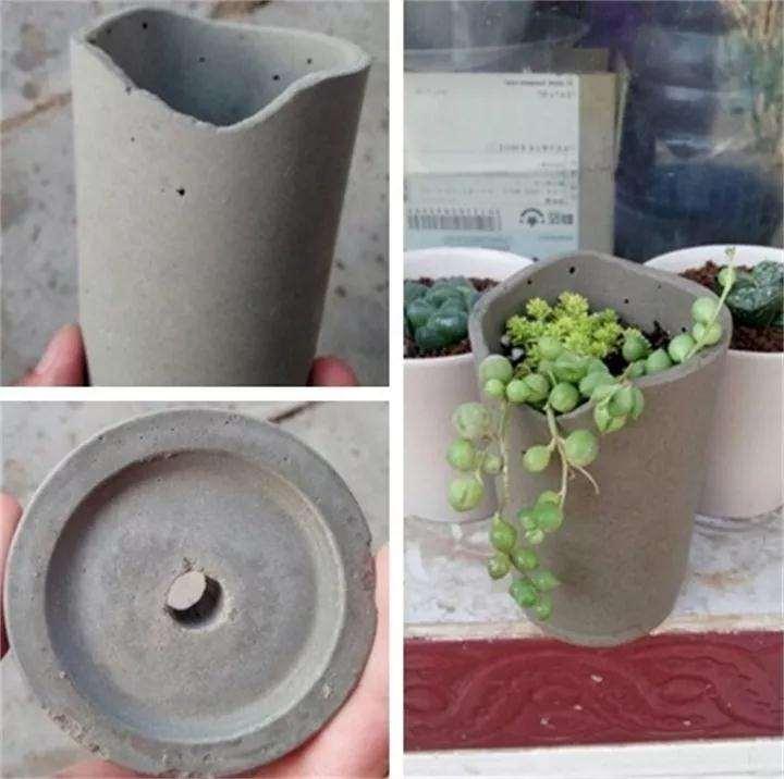 怎么用塑料杯水泥做多肉花盆