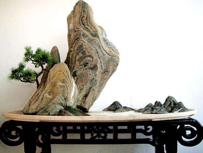 海派山水盆景怎么绿化装饰的方法