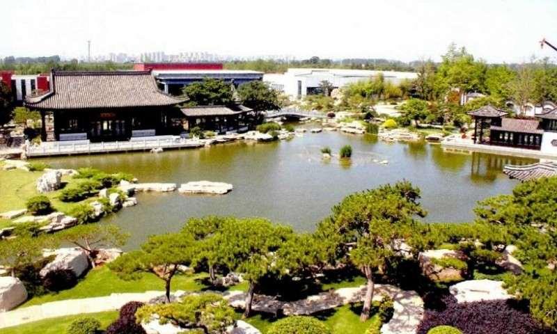 临沂琅琊盆景园 占地150余亩 图片