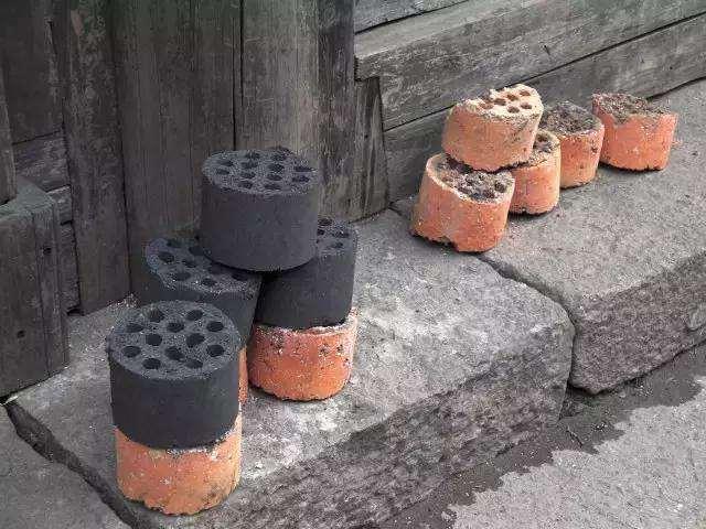 金弹子下山桩用煤渣和河沙