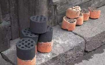 金弹子下山桩用煤渣和河沙 可以吗