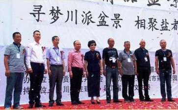 2016年 四川自贡第八届精品盆景展
