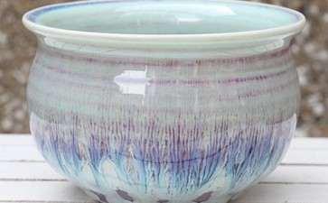 釉陶盆制作盆景的盆子 怎么样 图片