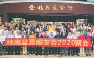 记岭南盆景痴友会2020年盆友聚会