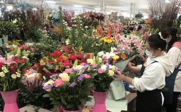 2020年 成都鲜切花市场进入最淡季