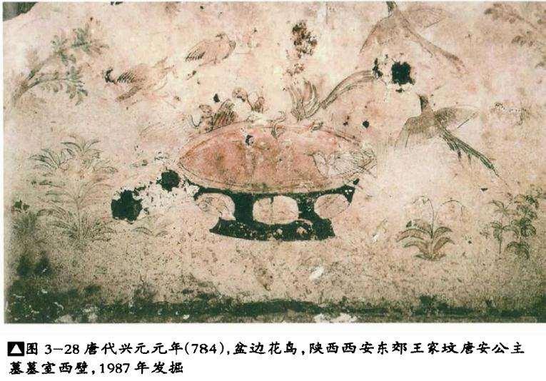 唐代植物类盆景名称考