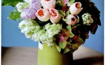 古典花型的庭院切花两用月季 图片