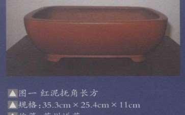 紫砂古盆器鉴赏 图片
