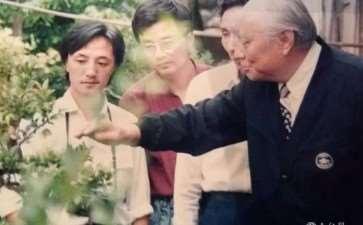 我有幸结识盆景艺术大师贺淦荪先生