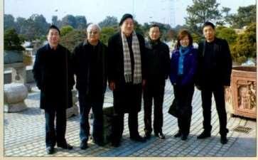 2009年 盆景界同仁访问常州
