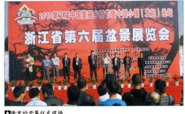 2010年浙江省第六届盆景展览会