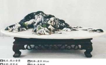 文人山水盆景不同景物的配合与衬托 图片